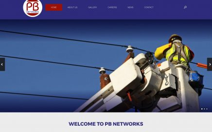 Utilities subcontractor launches website