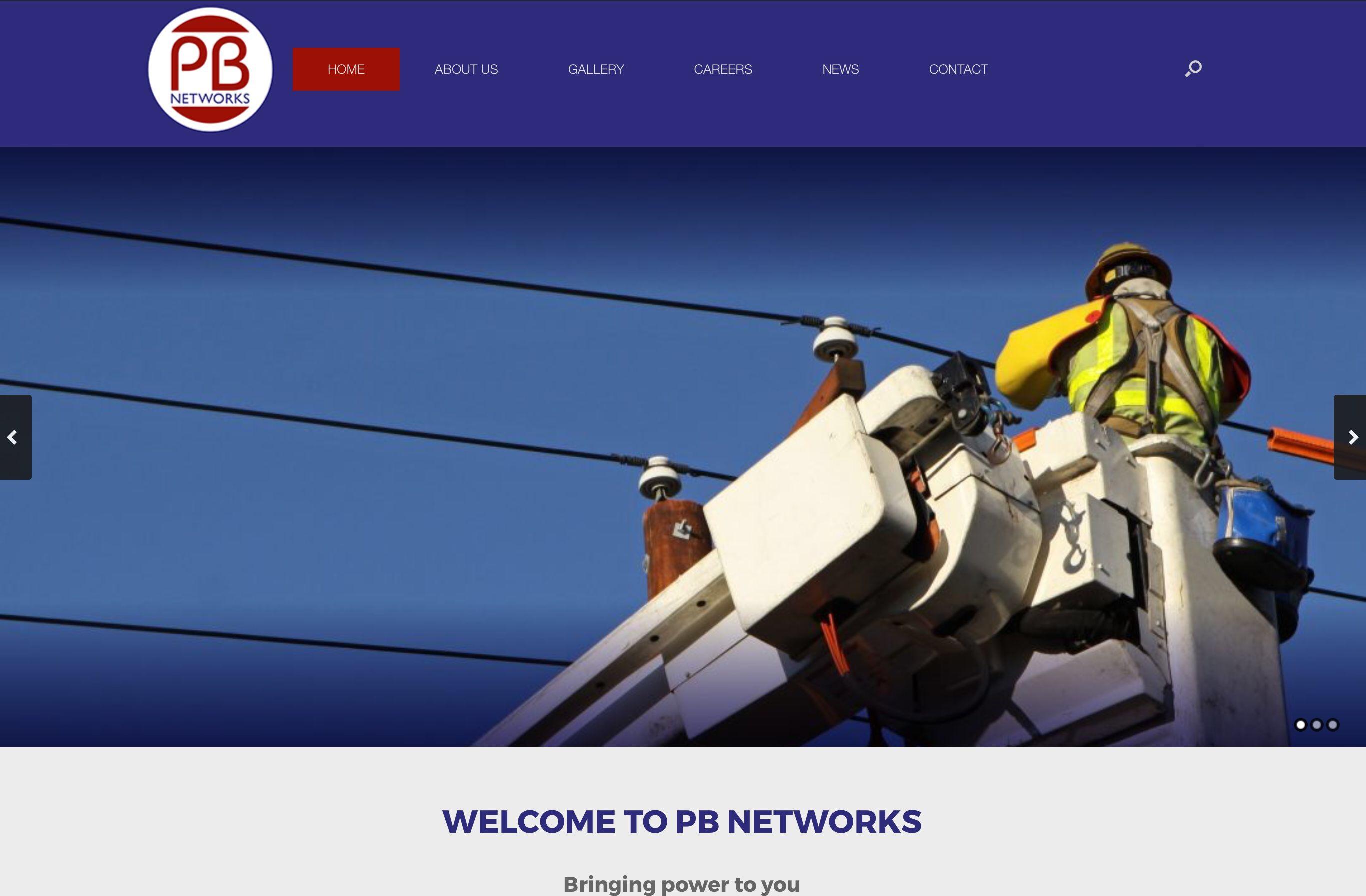 Utilities subcontractor launches website