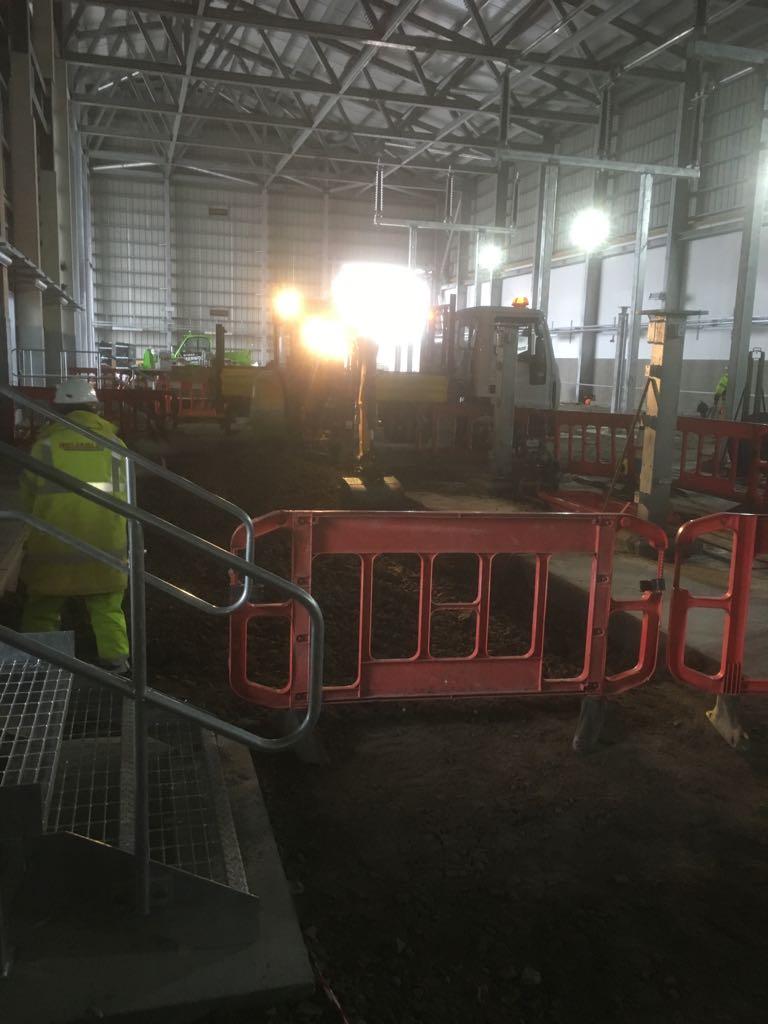 Cable installation Inverness Scotland